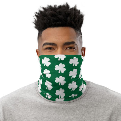 Simple Shamrock Neck Gaiter - Chowdaheadz