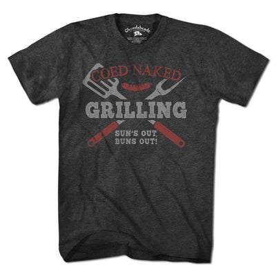 Coed Naked® Grilling T-Shirt - Chowdaheadz