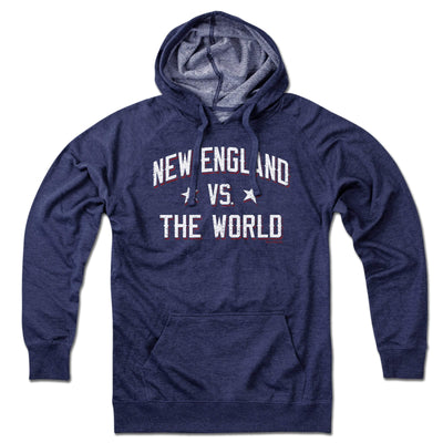 New England vs The World Lightweight Hoodie - Chowdaheadz