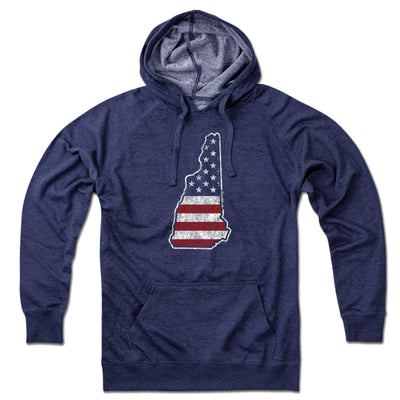 New Hampshire USA Lightweight Hoodie - Chowdaheadz