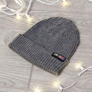Boston Townie Label Bunkah Hill Beanie - Heather Gray - Chowdaheadz