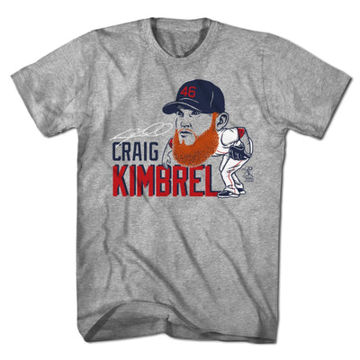 Craig Kimbrel Big League T-Shirt - Chowdaheadz
