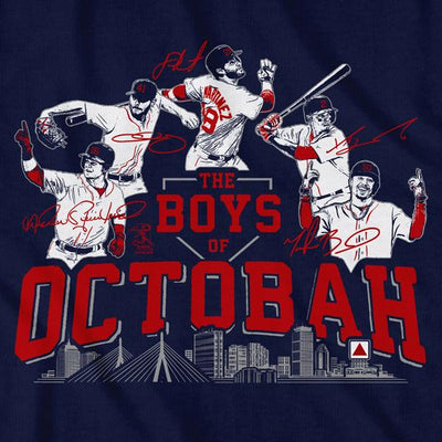 The Boys of Octobah T-Shirt - Chowdaheadz