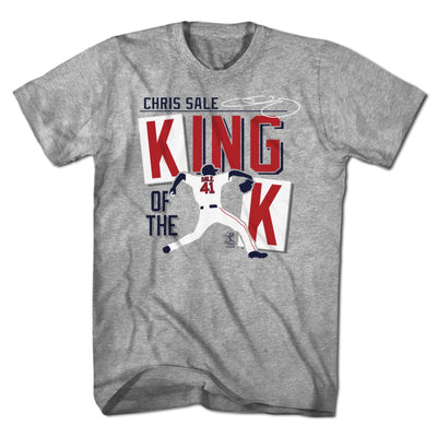 Chris Sale King of the K T-Shirt - Chowdaheadz