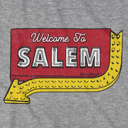 Welcome To Salem Sign T-Shirt - Chowdaheadz