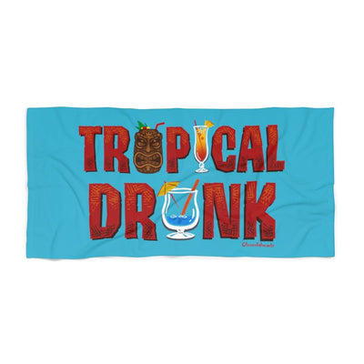 Tropical Drunk Beach Towel - Chowdaheadz