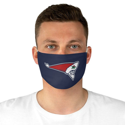 Flying Santa Logo Fabric Face Mask - Chowdaheadz