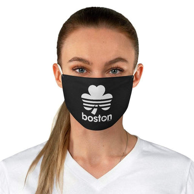 Boston Shamrock Retro Fabric Face Mask - Chowdaheadz