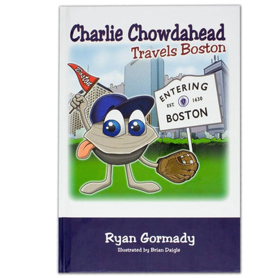 Boston Book, Charlie Chowdahead Travels Boston - Chowdaheadz