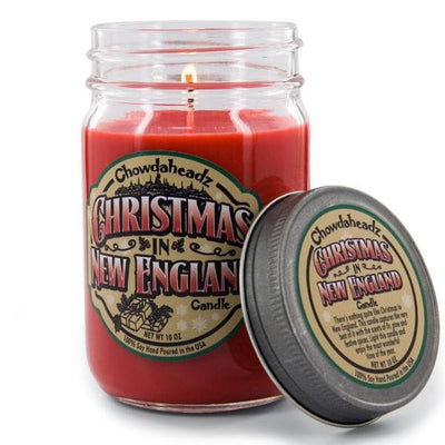 Christmas In New England Candle - Chowdaheadz