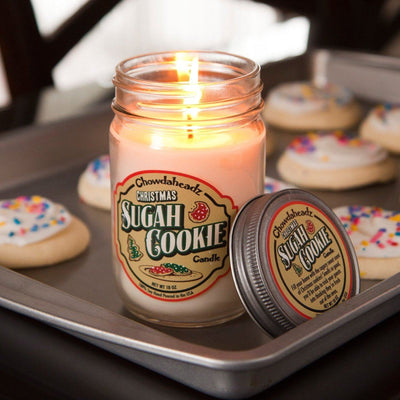 Christmas Sugah Cookie Candle - Chowdaheadz