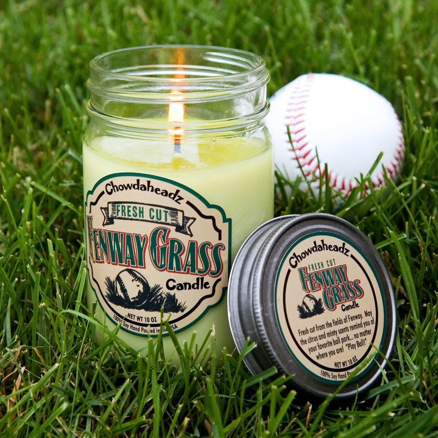 Fresh Cut Fenway Grass Candle - Chowdaheadz
