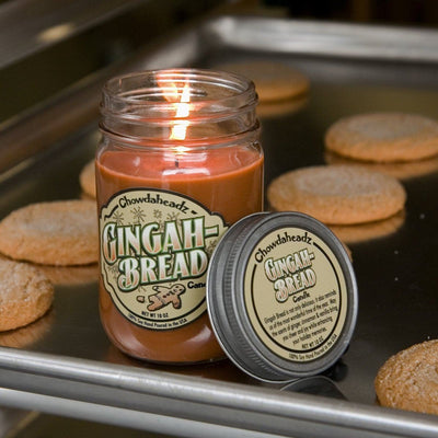 Gingah Bread Candle - Chowdaheadz