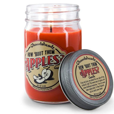 How Bout Them Apples Candle - Chowdaheadz