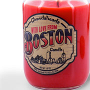 With Love From Boston Candle - Chowdaheadz