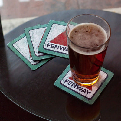 Fenway Sign Coaster Set - Chowdaheadz