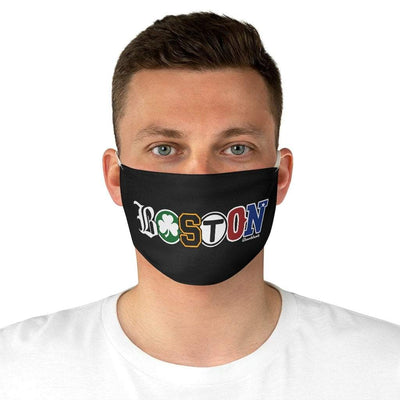 Boston Townie Pride Fabric Face Mask - Chowdaheadz