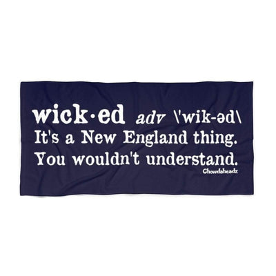 Wicked Definition Beach Towel - Chowdaheadz