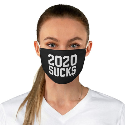 2020 Sucks Fabric Face Mask - Chowdaheadz