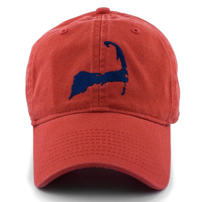 "Cape Cod ""Pastime"" Adjustable Hat - Cape Red - Chowdaheadz"