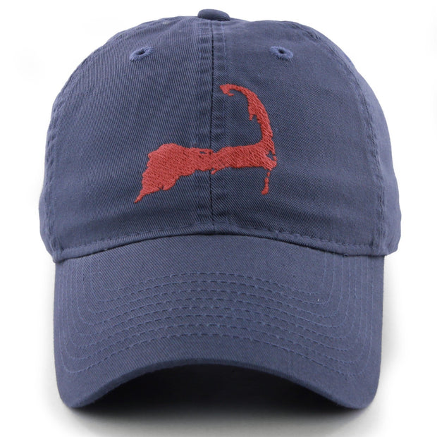 "Cape Cod ""Pastime"" Adjustable Slate Blue Hat - Chowdaheadz"