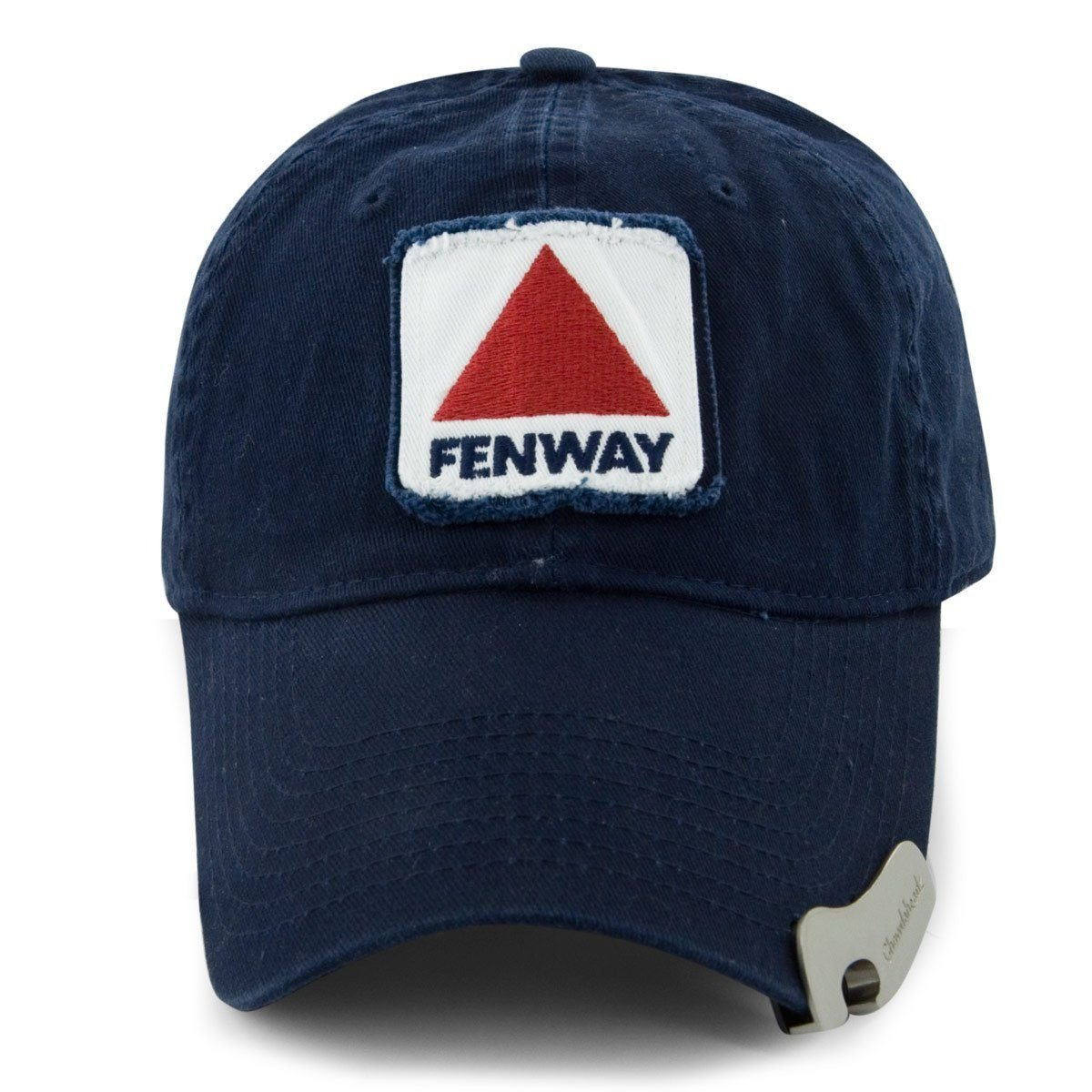 e55ff27b8c9 Fenway Patch Tailgate Time Bottle Opener Hat - Navy - Chowdaheadz