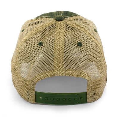 "Mini Vermont ""Dirty Water"" Mesh Trucker Hat - Green - Chowdaheadz"