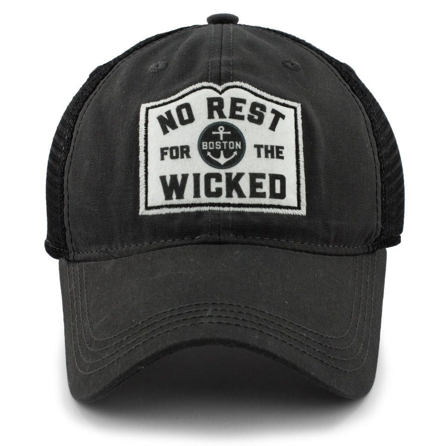 "No Rest For The Wicked ""Dockside"" Trucker Hat - Chowdaheadz"