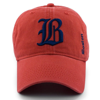 "Old Boston ""B"" Adjustable Cape Cod Red Hat - Chowdaheadz"