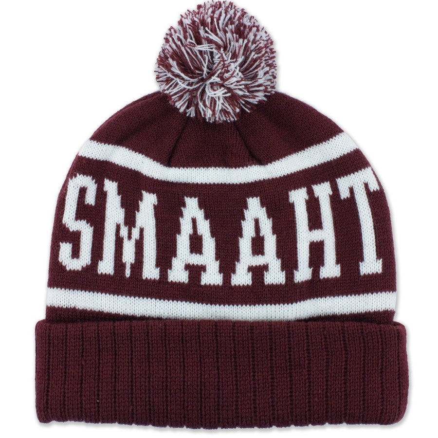 Wicked Smaaht Old School Knit Winter Hat - Chowdaheadz