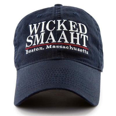 "Wicked Smaaht ""Pastime"" Adjustable Navy Hat - Chowdaheadz"