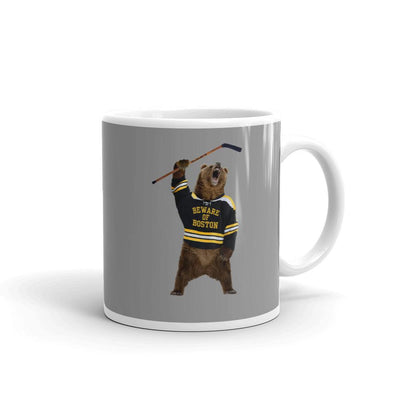 Beware of Boston Bear Coffee Mug - Chowdaheadz