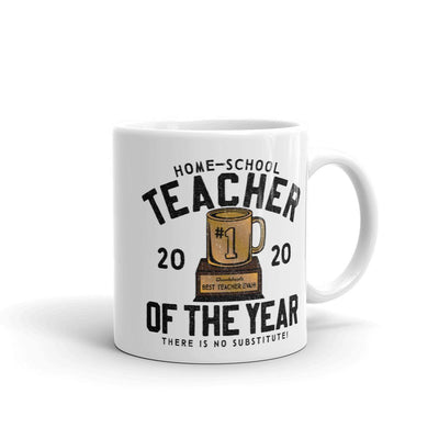 Home-School Teacher Of The Year Coffee Mug - Chowdaheadz