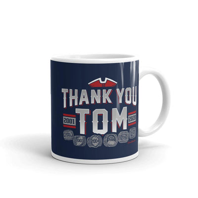 Thank you Tom Coffee Mug - Chowdaheadz