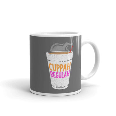 Cuppah Regulah Coffee Mug - Chowdaheadz