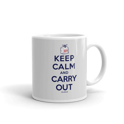 Keep Calm & Carry Out Coffee Mug - Chowdaheadz