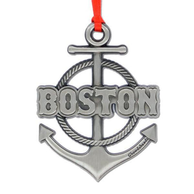 Boston Anchor Ornament - Chowdaheadz