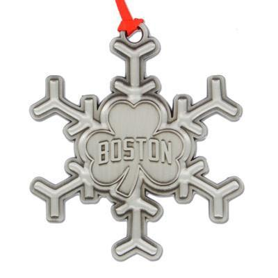 Boston Snowflake Ornament - Chowdaheadz