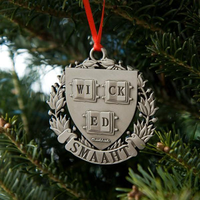 Wicked Smaaht Ornament - Chowdaheadz