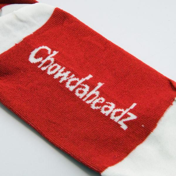 Boston Baseball Red Crew Socks - Chowdaheadz