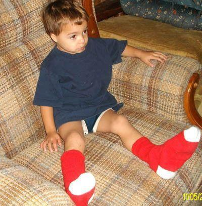 Boston Red Socks,  With White Heel and Toe - Chowdaheadz