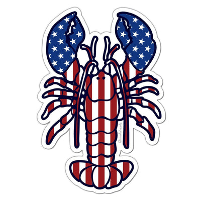 Lobstah 'Merica Sticker - Chowdaheadz