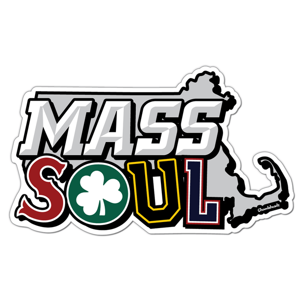 Mass Soul Sticker - Chowdaheadz