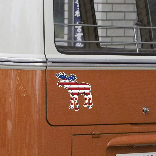 'Merica Moose Sticker - Chowdaheadz