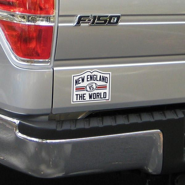 New England vs. The World Sticker - Chowdaheadz