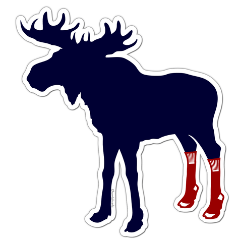 883d803688f Socks On Moose Sticker
