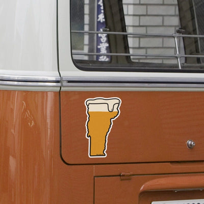 Vermont Beer Sticker - Chowdaheadz