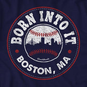 Born Into It Baseball Lightweight Hoodie - Chowdaheadz