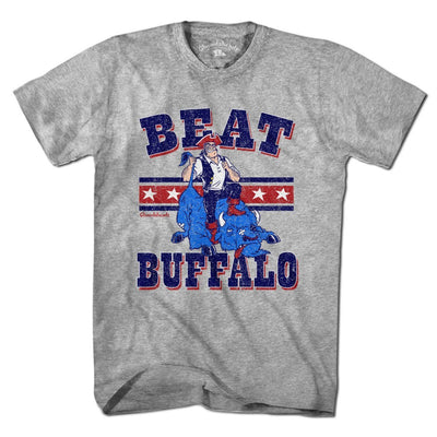Beat Buffalo New England T-Shirt - Chowdaheadz