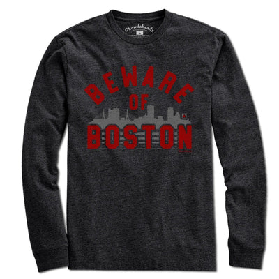 Beware of Boston Skyline T-shirt - Chowdaheadz